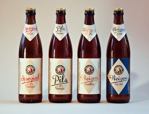 Alpirsbacher Klosterbräu: Etiketten