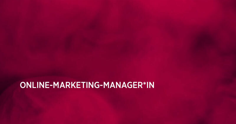 Job: Online-Marketing-Manager*in