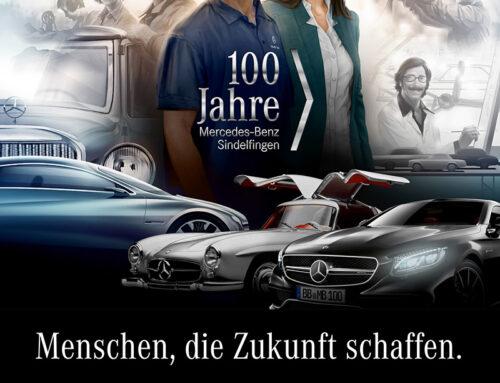 Mercedes-Benz: Jubiläums-Kommunikation Werk Sindelfingen
