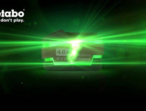 Metabo: Videoclip Akku-Einführung